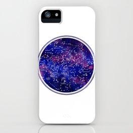 Star Map III iPhone Case