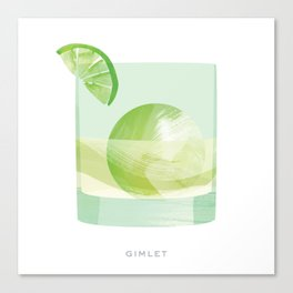 Cocktail Hour: Gimlet Canvas Print