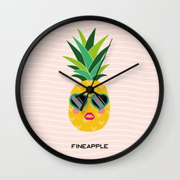 Fineapple Wall Clock