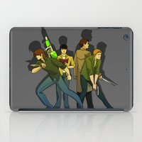 supernatural iPad Cases featuring Supernatural by Justyna Rerak