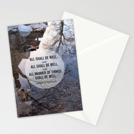 All shall be well Stationery Cards