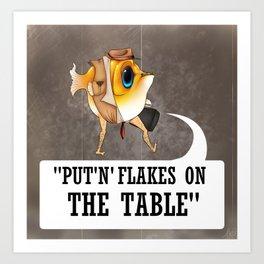 Fishy Business Art Print