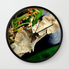 Frilly Fungus, Ginger On The Side Wall Clock