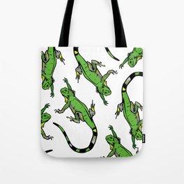 Rainforest Collection - Iguanas Tote Bag