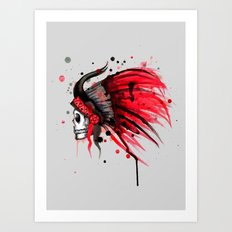 Savages Art Print