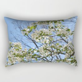 Crabapple Flowers 03 Rectangular Pillow