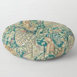 The Forest  William Morris Floor Pillow