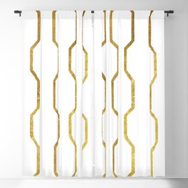 Gold Chain Blackout Curtain