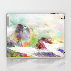 Glitch Mountain Laptop & iPad Skin