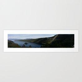 Emerald Bay, Lake Tahoe, CA Art Print