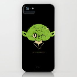 StarWars May the Force be with you (green vers.) iPhone Case