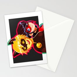 Ladybug and Cat Noir Stationery Cards