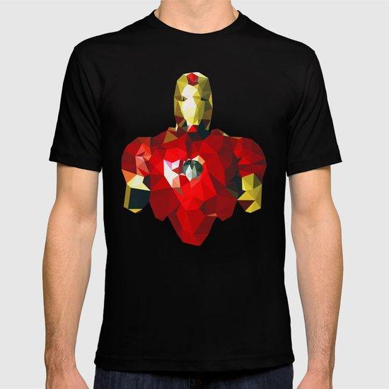 Polygon Heroes - Iron Man T-shirt
