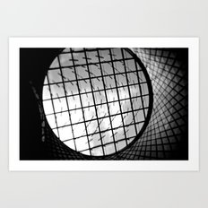 fulton center skylight Art Print