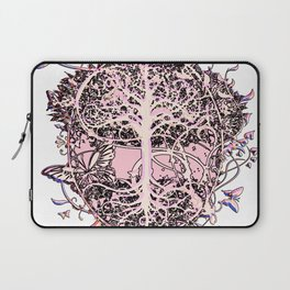 Butterflies and Tree of Life Laptop Sleeve
