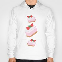cake Hoodies featuring Cake by Inbeeswax