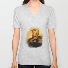Donald Trump - replaceface Unisex V-Neck