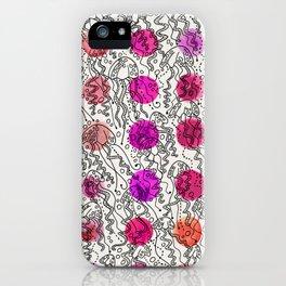 Dotty Jellyfish iPhone Case