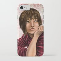 chihiro iPhone & iPod Cases featuring Chihiro from Spirited Away 2 by Kimberly Castello