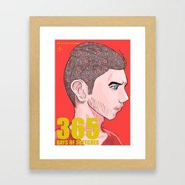 365 Days of Sketches: Number #136 Framed Art Print