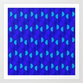 Sea Ripple Art Print