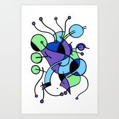 Print #9 Art Print