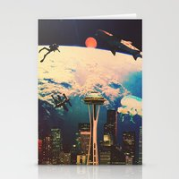 future Stationery Cards featuring Future. by Daniel Montero