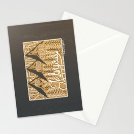 The Great Abyss Stationery Cards