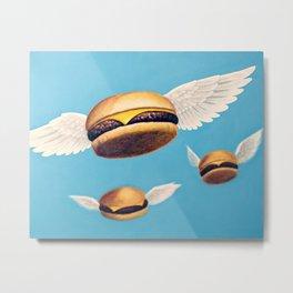 Burger Heaven Metal Print