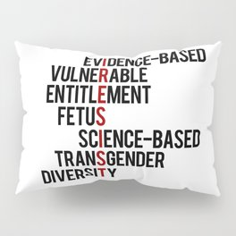 Donald Trump's seven banned words CDC: I RESIST 7 evidence-based vulnerable entitlement fetus Pillow Sham