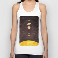 solar system Tank Tops featuring Solar System by Annisa Tiara Utami