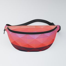 Aztec inspired triangle Tiled Abstract Fanny Pack