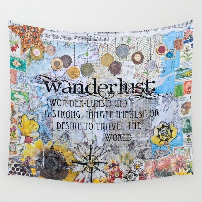 Wanderlust Wall Tapestry