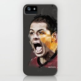 Chicarito Painting iPhone Case