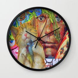 Leader of the Lost Boys  Wall Clock
