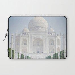Taj Mahal Water Reflection Laptop Sleeve