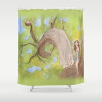 hunter Shower Curtains featuring Hunter by ashtoledo