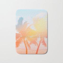 Tropicana seas - sundown Bath Mat