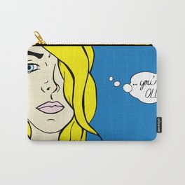 Needy Cards- You're Old Carry-All Pouch