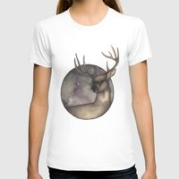 antlers T-shirts featuring Antlers by Ericaphant
