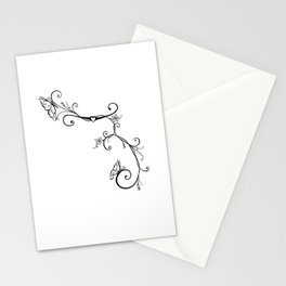 Butterfly Vines Stationery Cards