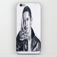rap iPhone & iPod Skins featuring Rap God! by DrewzDesignz