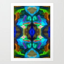 十七 (Shíqī) Art Print
