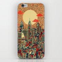 philadelphia iPhone & iPod Skins featuring philadelphia by Bekim ART