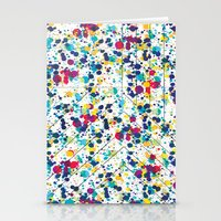 splatter Stationery Cards featuring Splatter by Regan McDonell Design