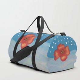 Coquelicot en mer bis Duffle Bag