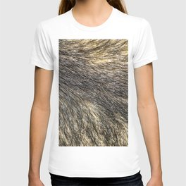 Wolf skin for a fluffy hair lover T-shirt