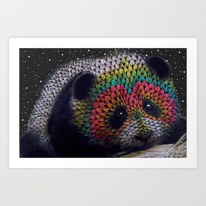 Rainbow Panda Art Print By Lunaportnoi Society6