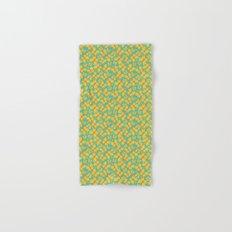Yellow Butterflies Hand & Bath Towel
