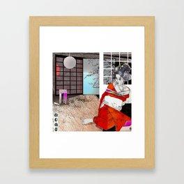 shibari 1 Framed Art Print